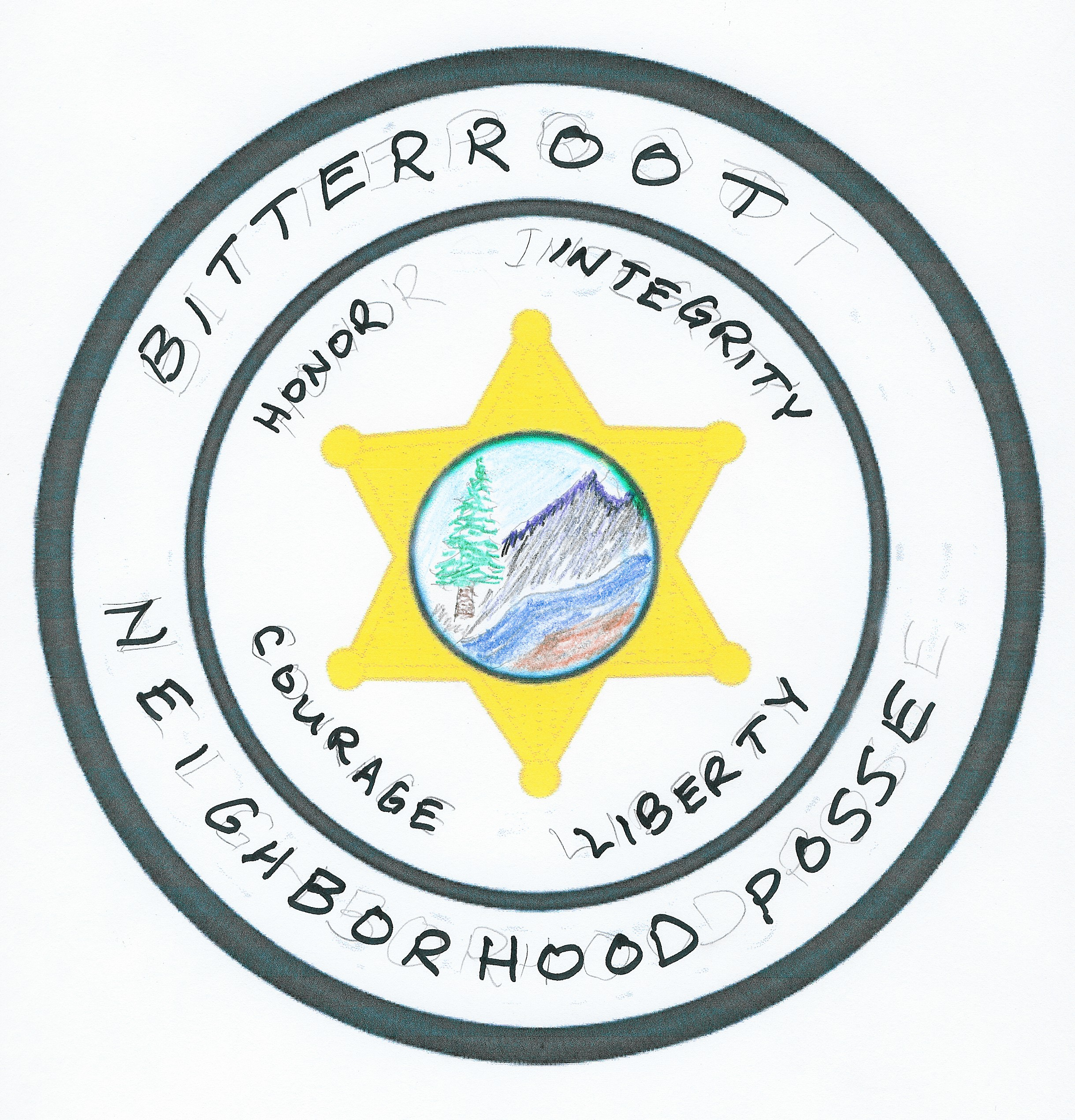 bitterroot neighborhood posse patch 1