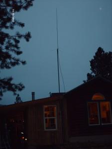 2 meter mast installation