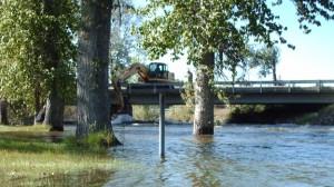 log dam removal