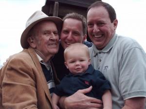 4-generation Dunlap men