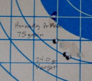 200-yard, 3-shot, scoped, benchrest