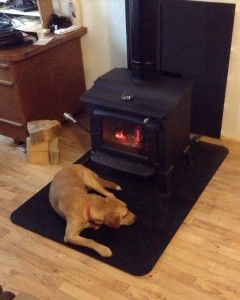 another fan of our fireplace