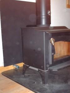 stove left vent