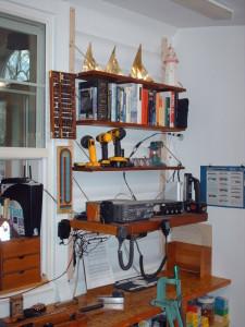 workbench bookcase