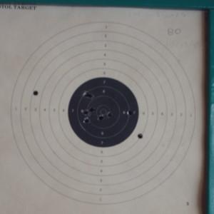 target range opening target 1