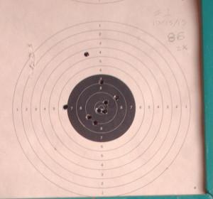 target range opening target 2
