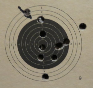 10 meter rifle feb 23 1st 10 shots