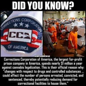 CCofA spending against legalization