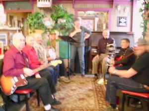 band ?, Don, ?, Sharon, Kurt, Bill, Ted 1000