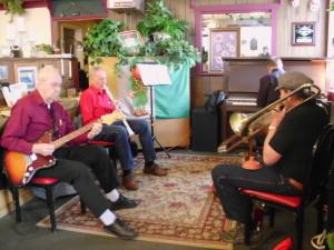 band ?, Don clarinet, Kurt keys 1000
