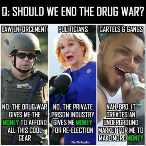 drug war supporters