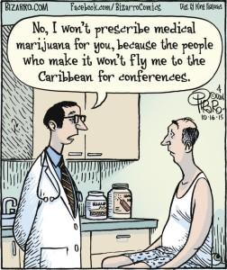no I won't prescribe medical mj